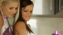 Lesbian Recipe with Brandy Smile and Jo (Monica Sweet) – Viv Thomas HD