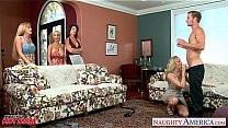 Moms Darla Crane, Holly Halston and Julia Ann sharing cock