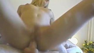 Lovely blonde having steamy anal sex