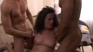 Fat Stepmom In Double Penetration Wake Up Cal