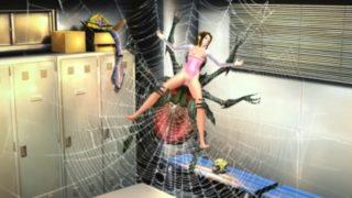 Fucking spider