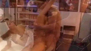 Katsuni fucked in a sex shop