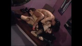 Lesbian threesome Asia Carrera Anna Malle Rebecca Lord