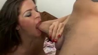 Mature Mom Huge Tits Fucks Younger Cock