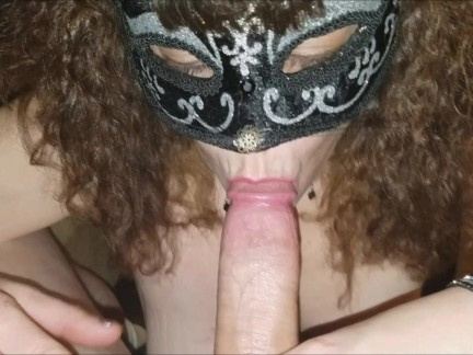 Soft, Sexy & Sensual Cock Sucking cleaned up with a full SWALLOW!!