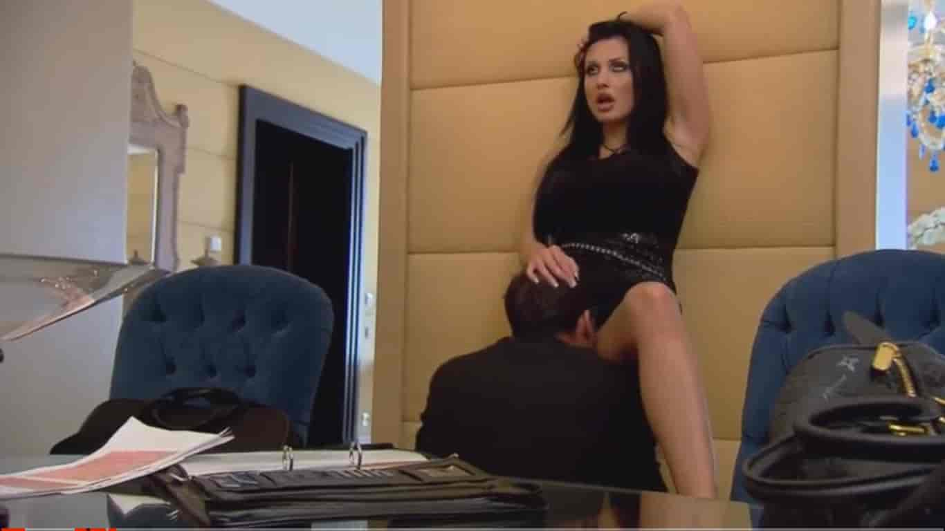 aleta fucks with her new boss in the office x art video full