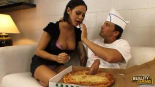 Dick Pizza Plus Penis Pizza More Cock Pizza Results In A Good Fuck