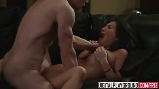 Asa Akira Hardcore Sex With Her Lover Erik Everhard On The Couch