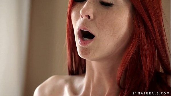 Redhead Kattie Gold likes good romantic sex